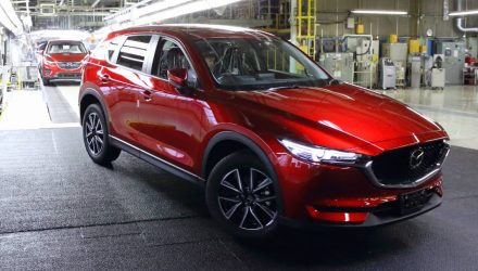 Mazda expands production capacity for 2017 CX-5