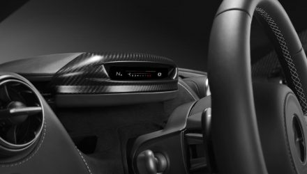 Upcoming McLaren Super Series '720S' gets folding digital instrument display