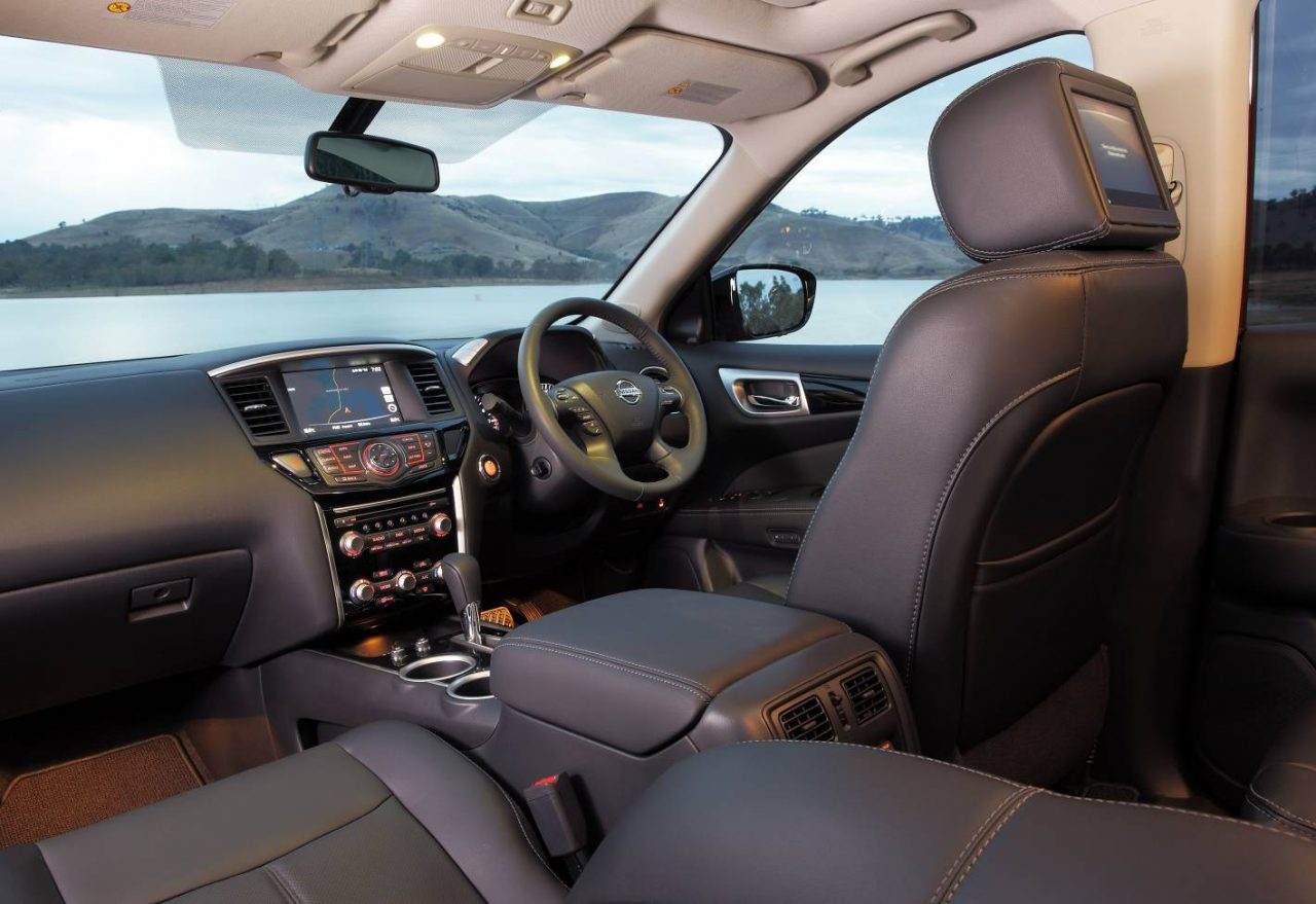 2017 nissan pathfinder now on sale in australia from. Black Bedroom Furniture Sets. Home Design Ideas