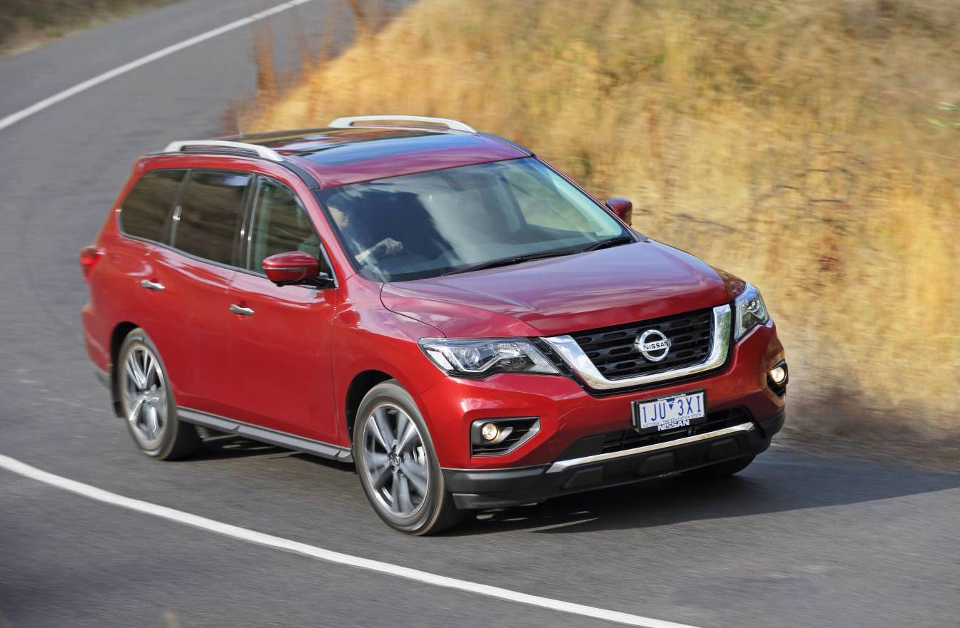2017 nissan pathfinder now on sale in australia from 41 990 performancedrive. Black Bedroom Furniture Sets. Home Design Ideas