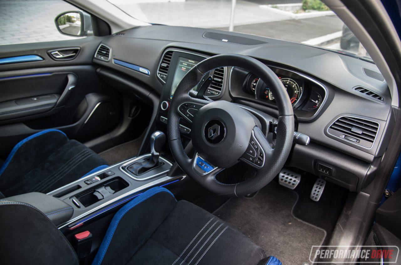 2017 Renault Megane GT-interior