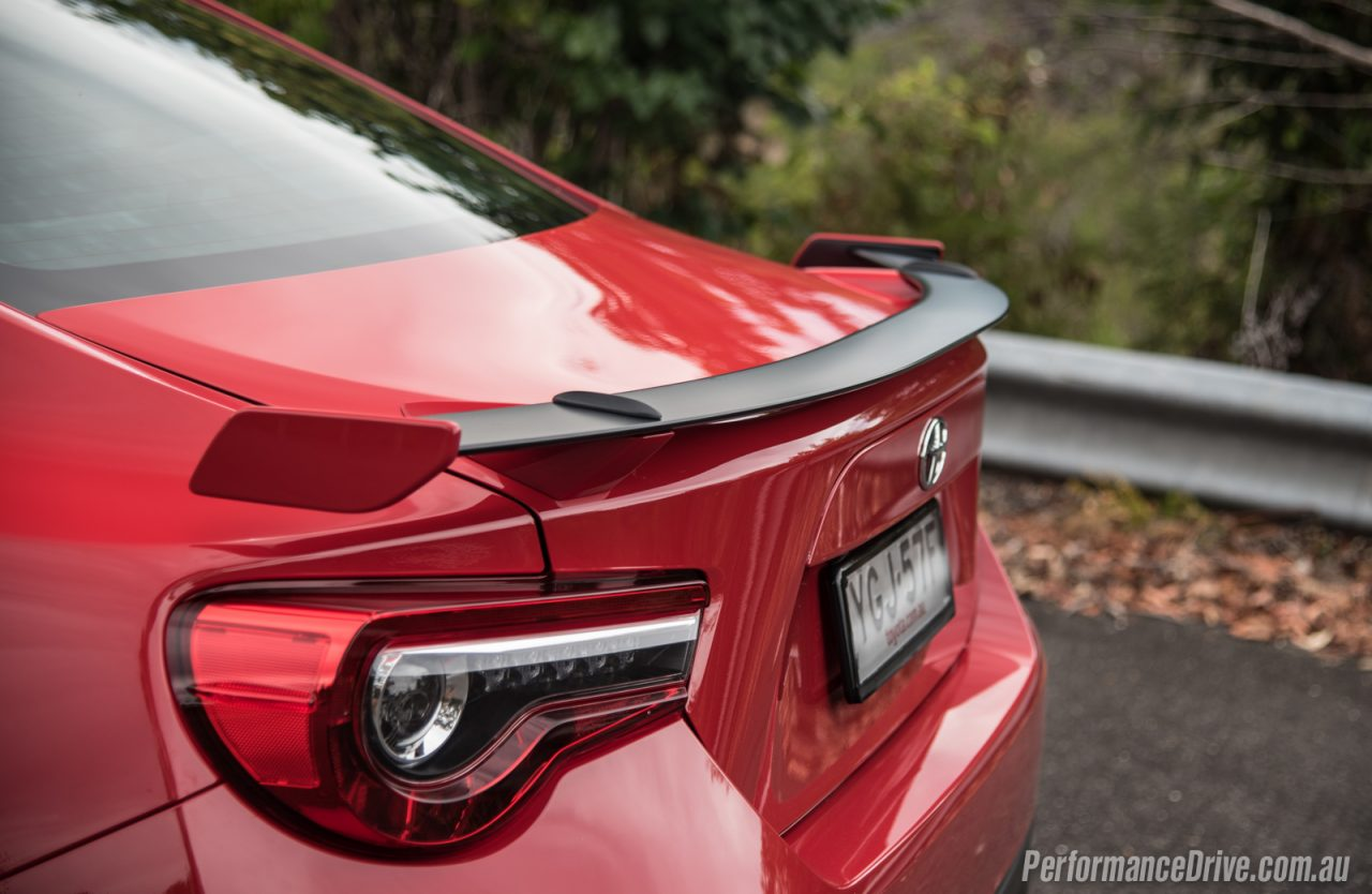 Toyota Gts Rear Spoiler X