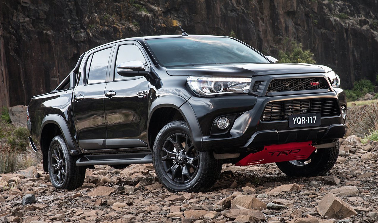 2017 Toyota Hilux Trd Pack Now On Sale In Australia