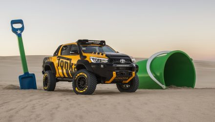 Toyota HiLux Tonka concept revealed as hardcore off-roader