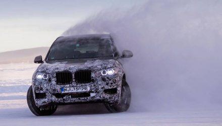 2018 BMW X3 'G01' undergoes extreme winter testing in Sweden