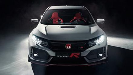 2018 Honda Civic Type R production version leaks online