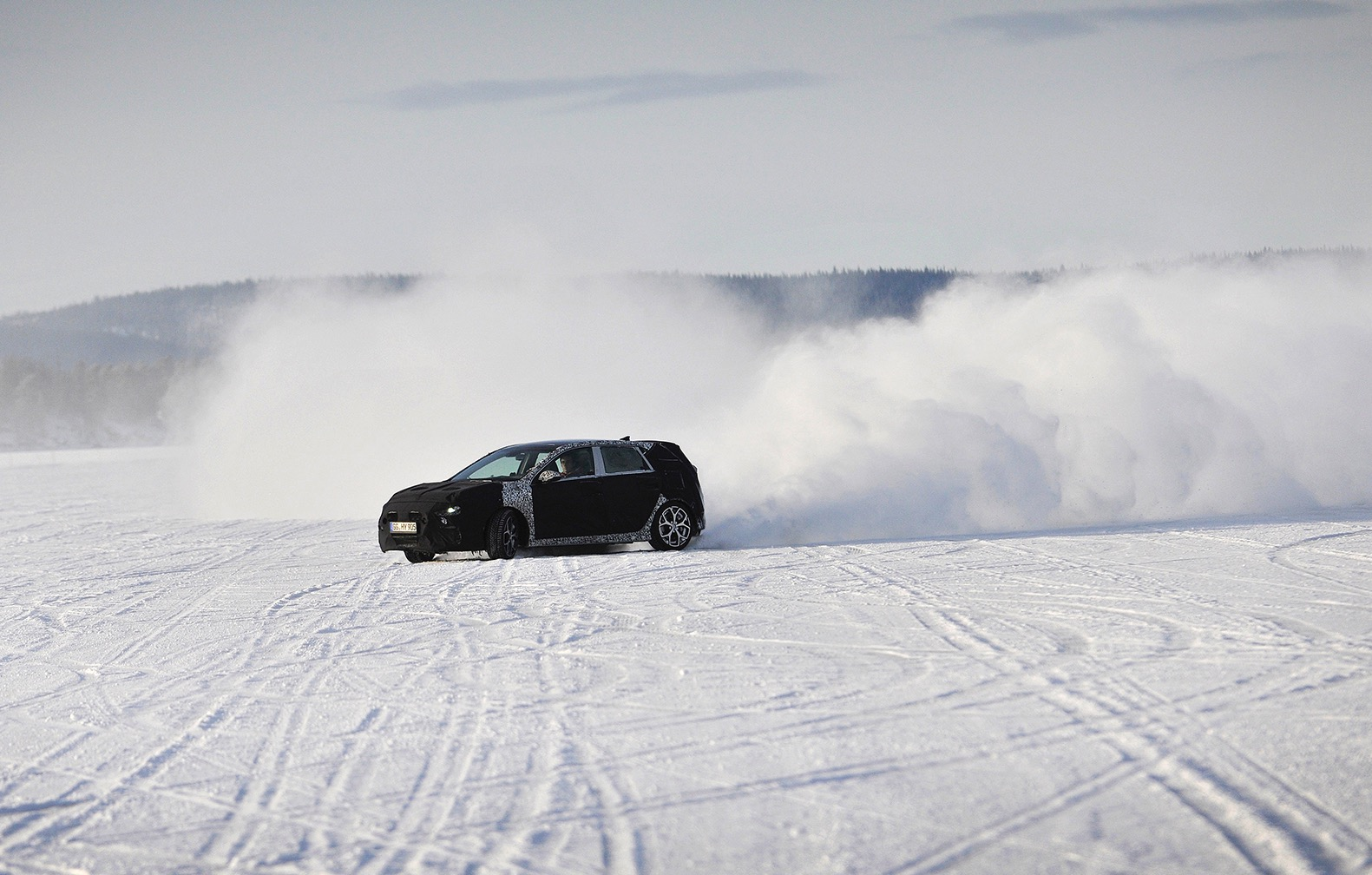 Hyundai i30 N hot hatch development hits the snow