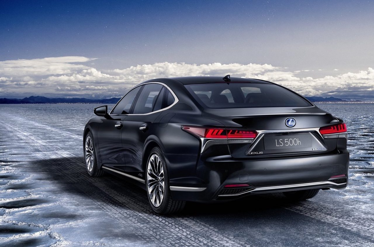 2018 Lexus Ls 500h Hybrid Revealed Offers Ev Mode Up To