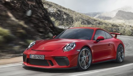 2018 Porsche 911 GT3 unveiled with 500hp 4.0L