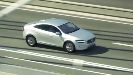 Volvo S40 small sedan design revealed via safety video?