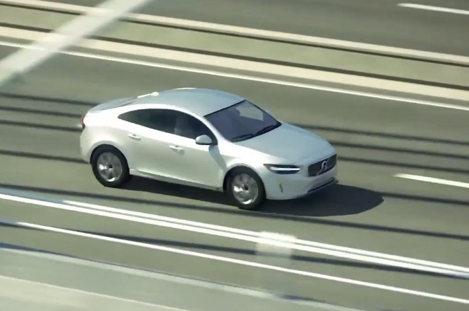 2018 volvo c40. simple volvo during a safety demonstration video for the new xc60 which is made using  computer graphics small sedan used as prop it would seem silly  intended 2018 volvo c40 s
