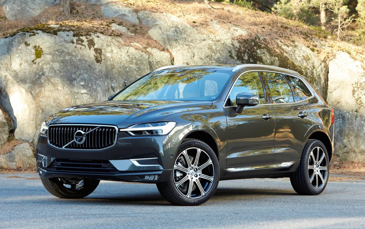 2018 volvo xc60 revealed at geneva 300kw t8 flagship confirmed performancedrive. Black Bedroom Furniture Sets. Home Design Ideas