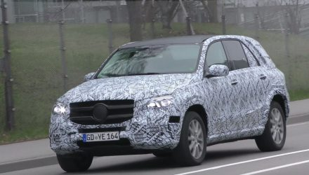 2019 Mercedes-Benz GLE 'W167' prototype spotted (video)