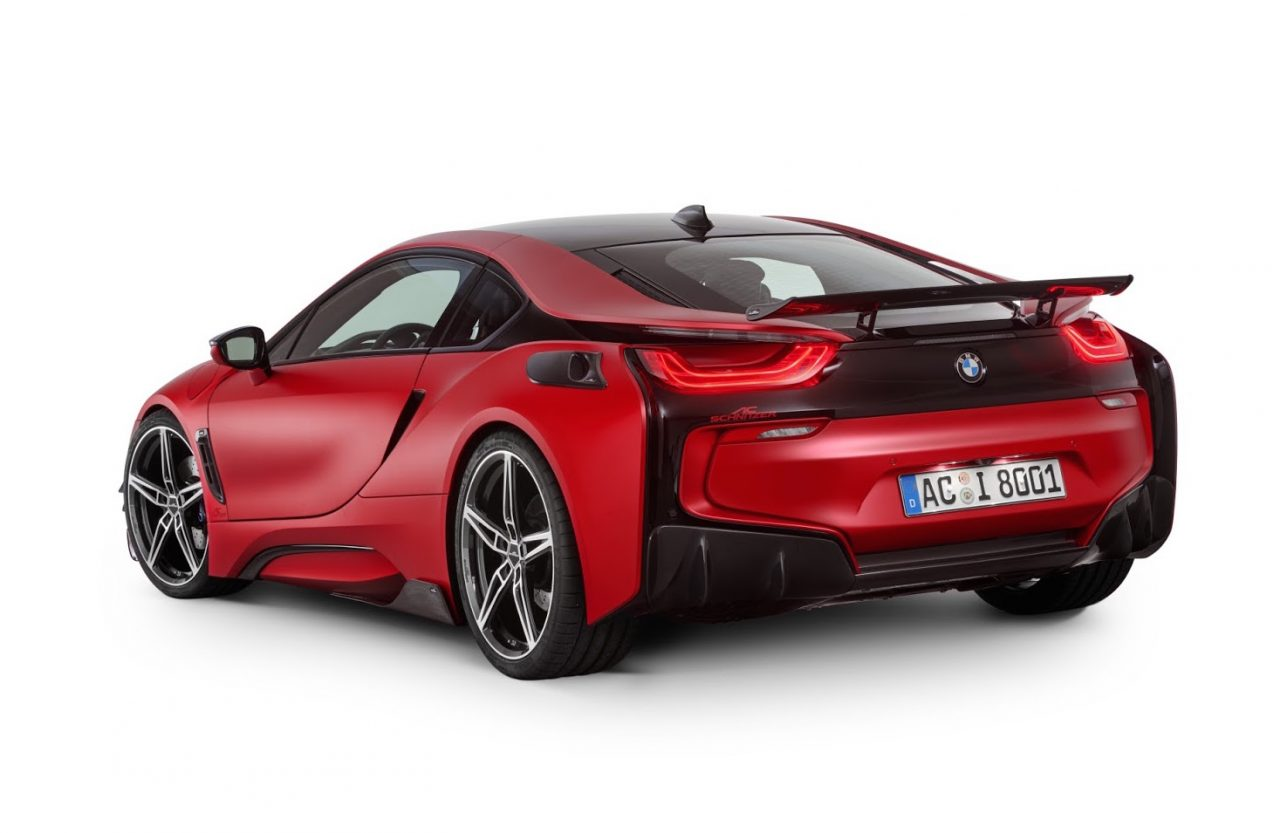 Ac Schnitzer Shows Acs8 Upgrades For Bmw I8