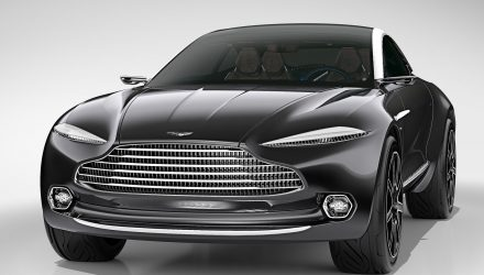 Aston Martin 'DBX' SUV will be full-size 5-door wagon, debuts late-2018
