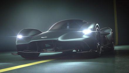 Aston Martin Valkyrie confirmed at AM-RB 001 hypercar