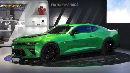 Chevrolet Camaro Track Concept breaks cover at Geneva