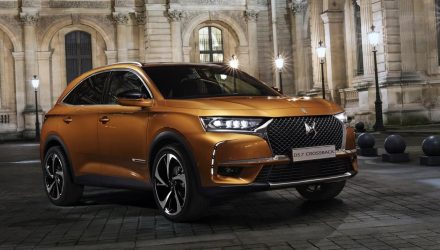 Citroen DS 7 Crossback revealed as suave new SUV