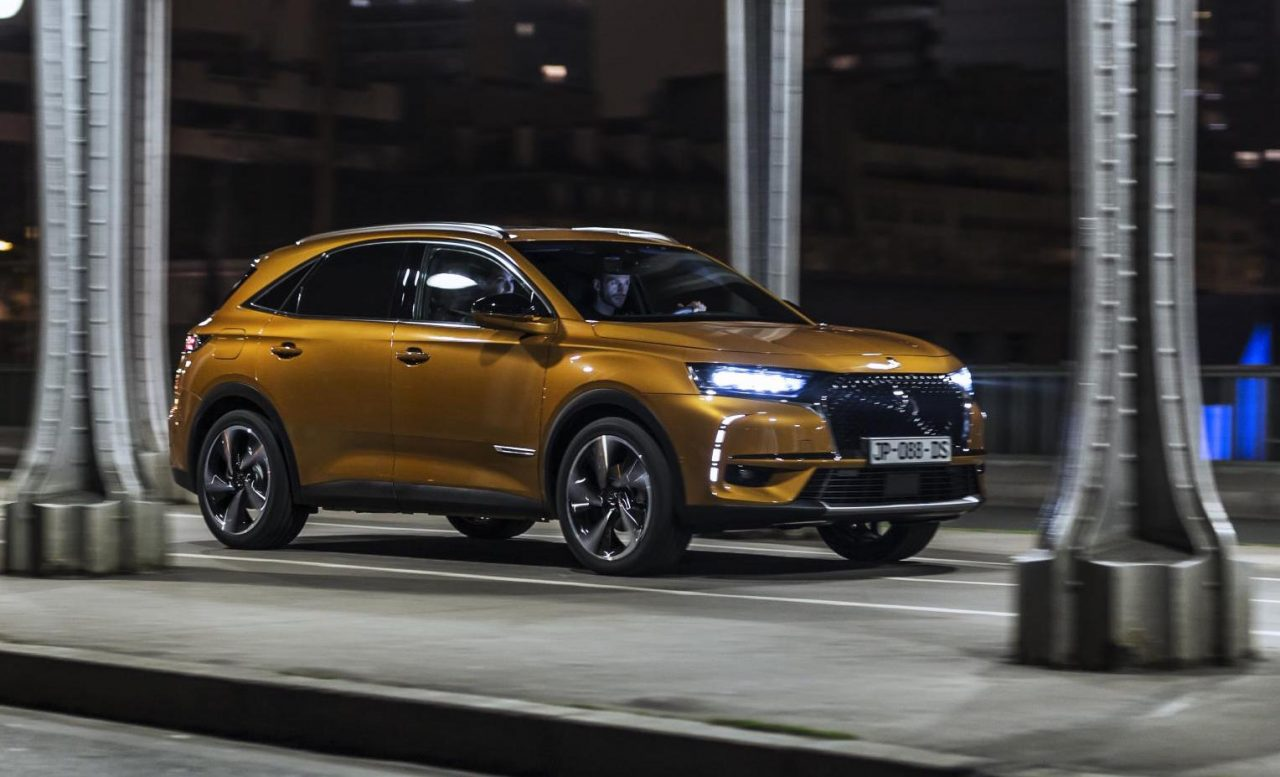 citroen ds 7 crossback revealed as suave new suv performancedrive