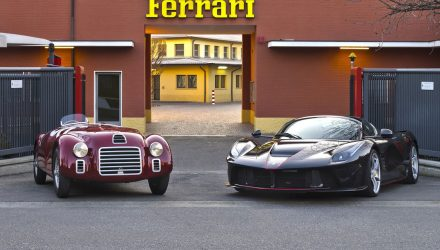 Ferrari recreates first start-up of 125 S to celebrate 70th anniversary (video)