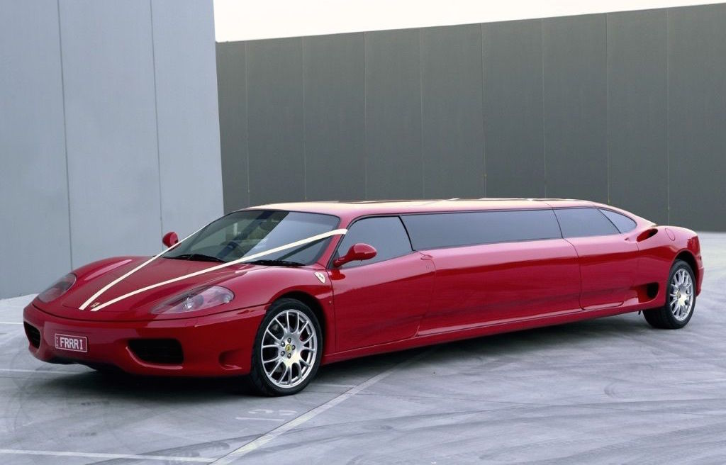 for sale ferrari 360 stretched limousine performancedrive. Black Bedroom Furniture Sets. Home Design Ideas