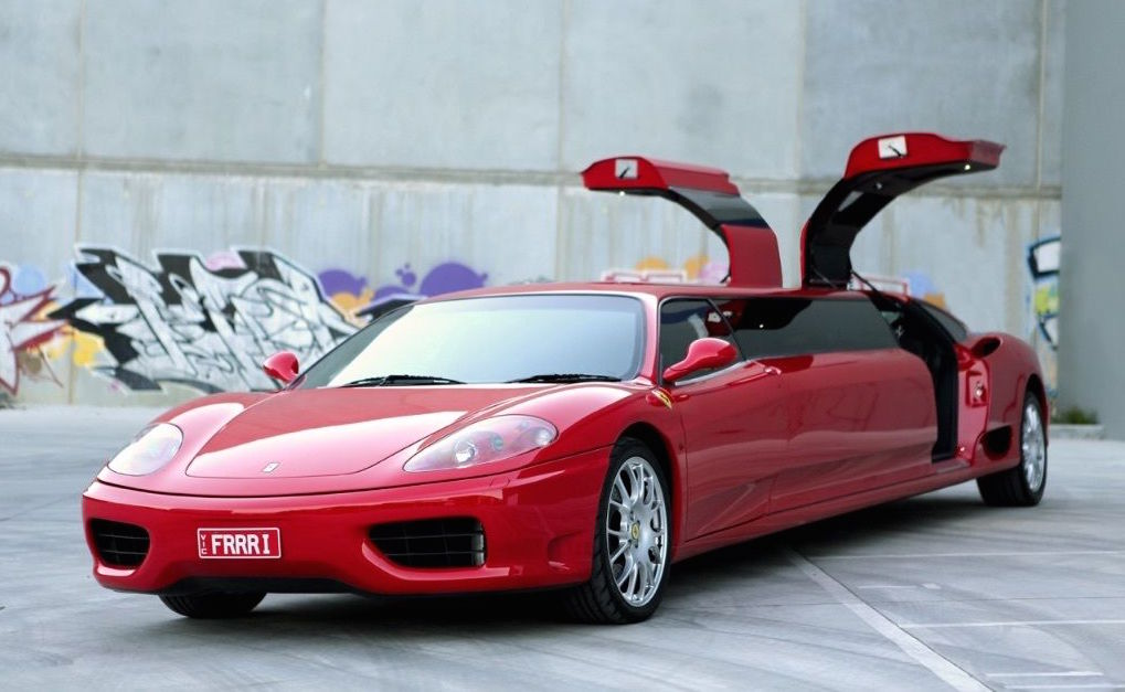 Limo For Sale >> For Sale: Ferrari 360 stretched limousine | PerformanceDrive