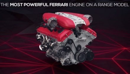 Ferrari details 812 Superfast, including variable intake (video)