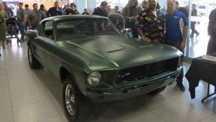 Ford Mustang from 1968 Bullit film found & restored