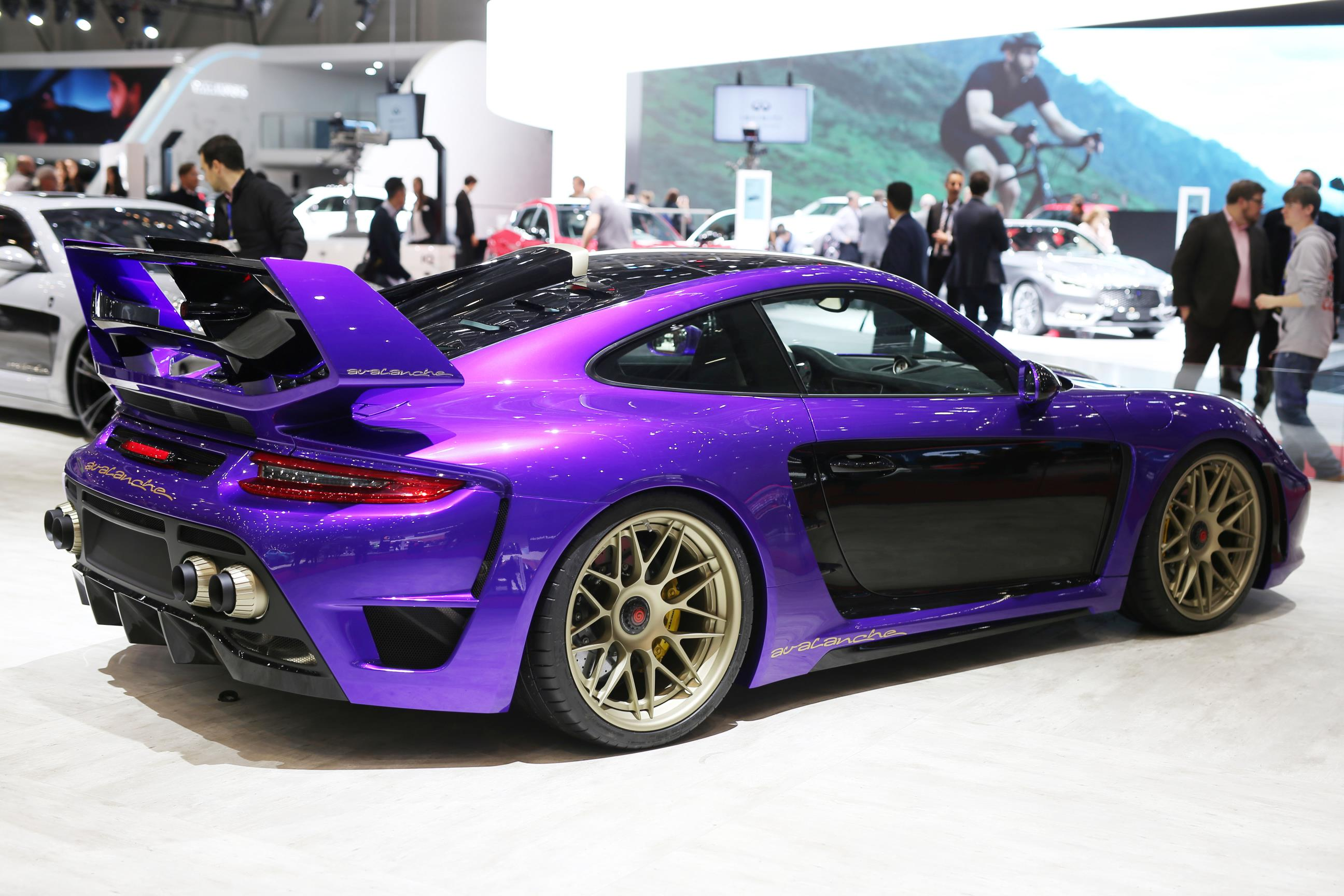 Gemballa Avalanche, Mistrale, Mirage GT wow at Geneva show ...
