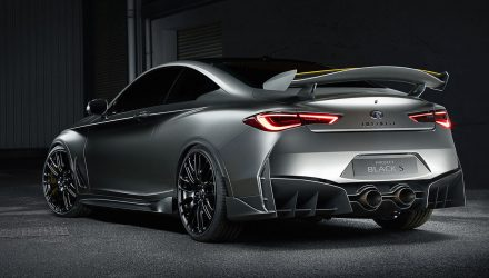 Infiniti Q60 Black S concept previews potential super coupe