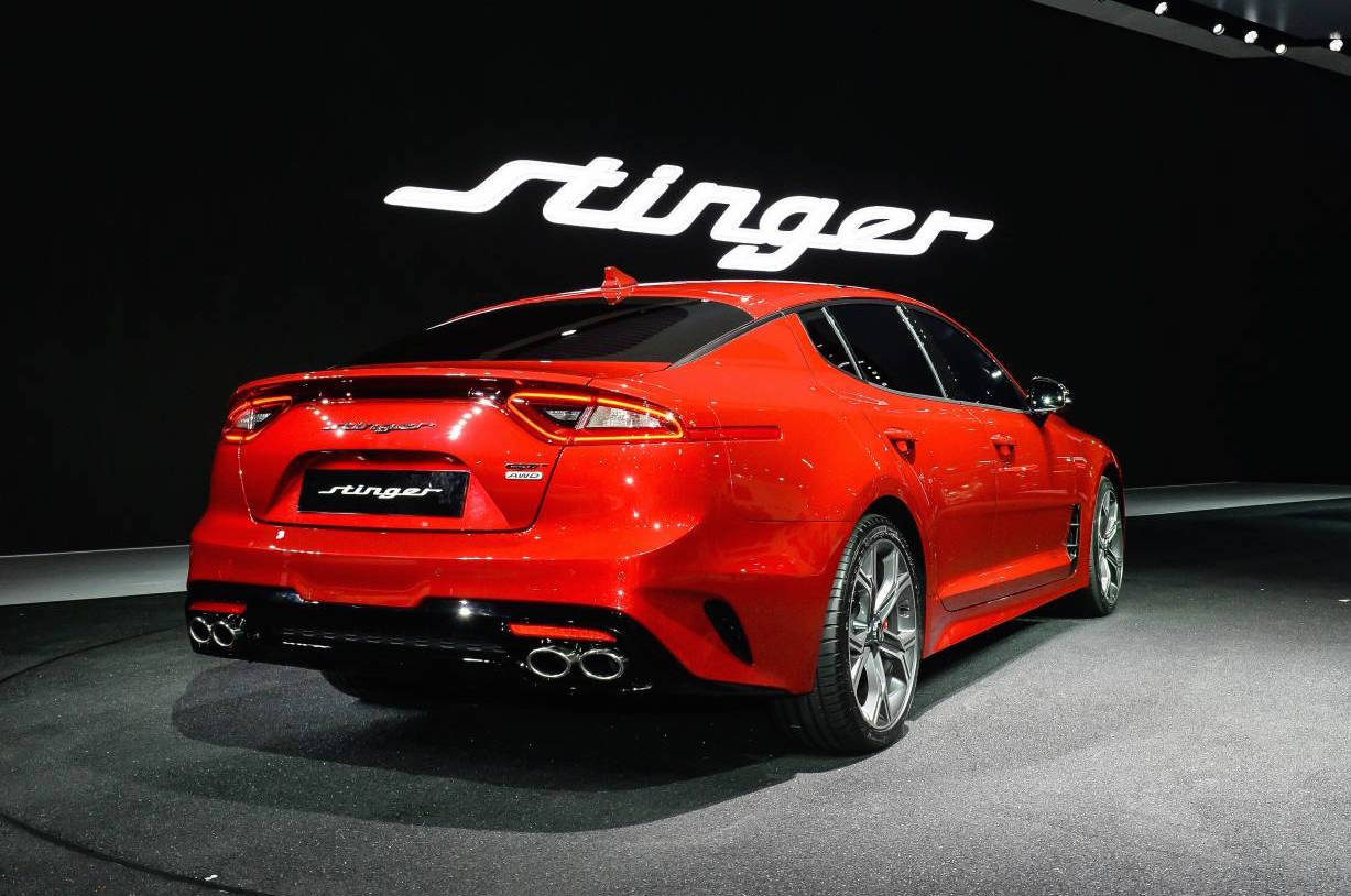 kia stinger official 0 100km h power outputs confirmed performancedrive. Black Bedroom Furniture Sets. Home Design Ideas