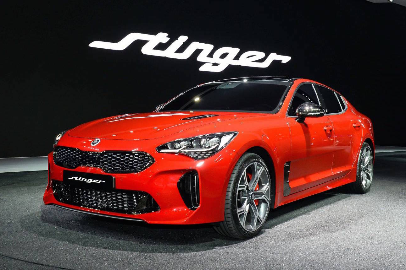 Kia Stinger official 0-100km/h & power outputs confirmed ...