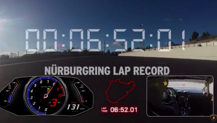 Lamborghini Huracan Performante sets Nurburgring lap record (video)