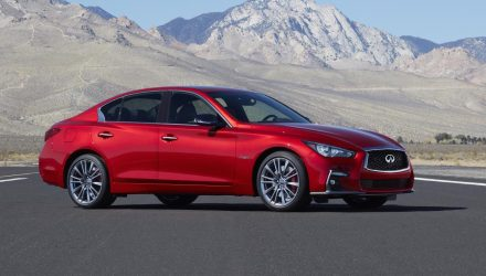2018 Infiniti Q50 debuts at Geneva with mild facelift