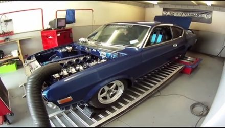 Mazda RX-4 gets insane custom 6-rotor rotary engine (video)