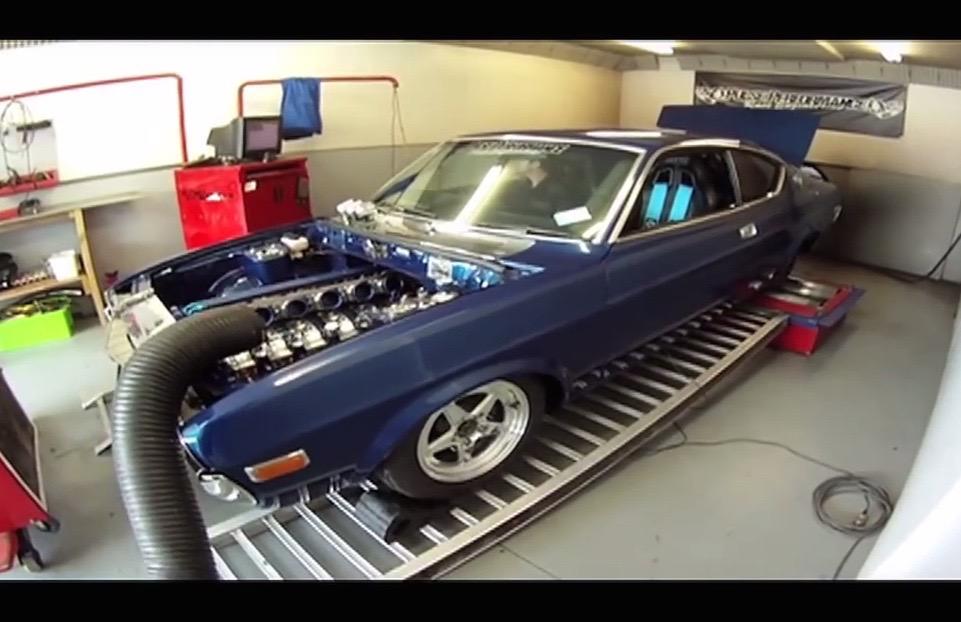 Mazda RX-4 gets insane custom 6-rotor rotary engine (video ...