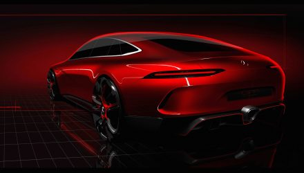 Mercedes-AMG GT four-door coupe concept heading to Geneva