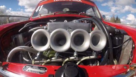 Mini Cooper S quad throttle bodies