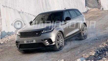 Range Rover Velar revealed via leaked images