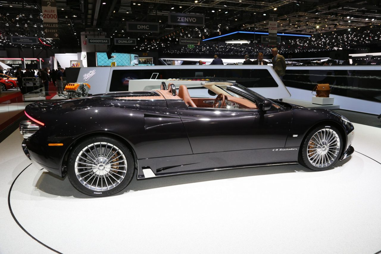 Spyker C8 Preliator Spyder Revealed At Geneva Show