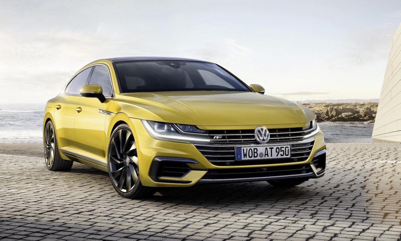 Volkswagen Arteon revealed as sporty new Passat CC | PerformanceDrive