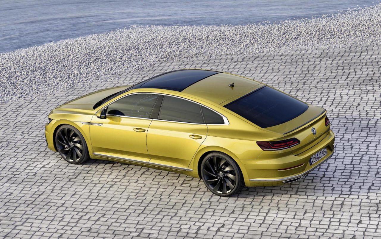 volkswagen arteon revealed as sporty new passat cc performancedrive. Black Bedroom Furniture Sets. Home Design Ideas