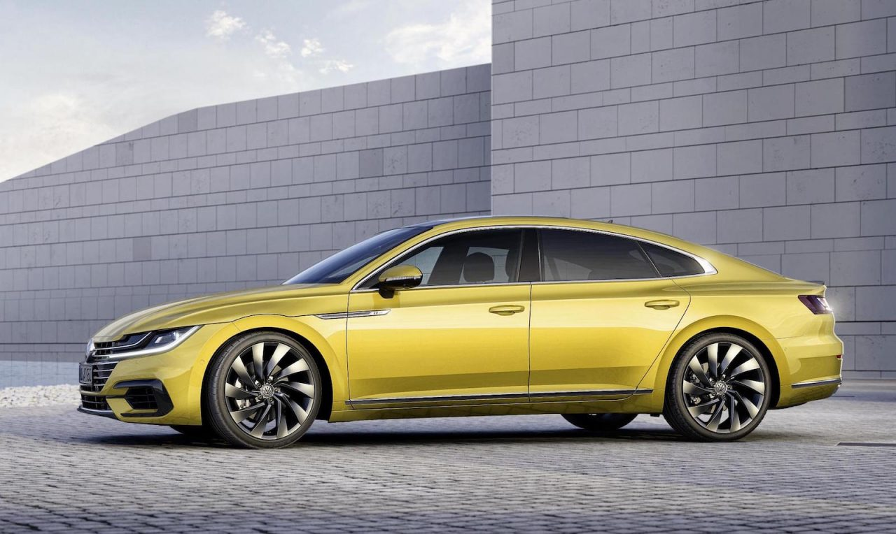 volkswagen arteon revealed as sporty new passat cc. Black Bedroom Furniture Sets. Home Design Ideas