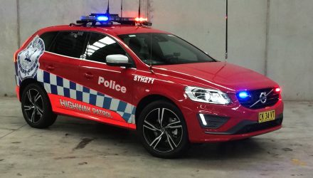 7 Volvo XC60 highway patrol cars join NSW police fleet
