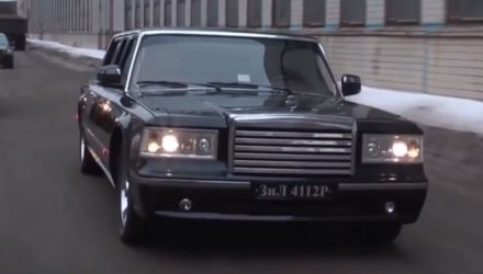 ZIL Russian limo