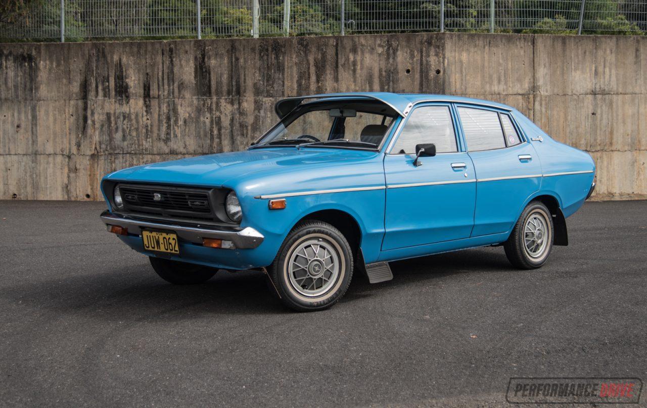 Video: 1978 Datsun 120Y 0-100km/h & Engine Sound