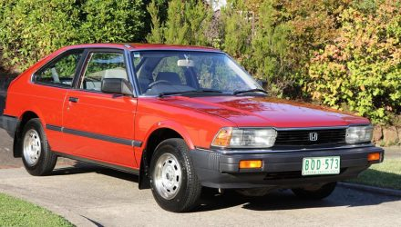 For Sale: Strangely appealing original 1982 Honda Accord