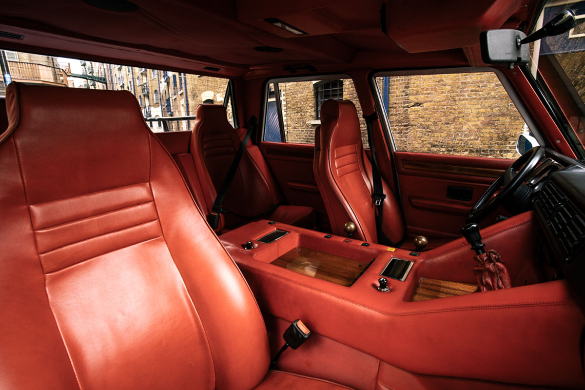 For sale 1991 lamborghini lm002 fully restored 1 of 328 for Interior lamborghini