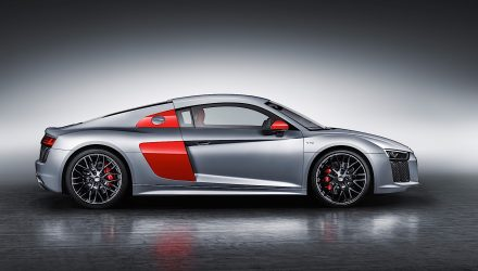 Audi R8 'Audi Sport Edition' unveiled at New York auto show