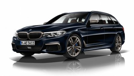 2017 BMW M550d revealed; quad-turbo, most powerful 6cyl diesel